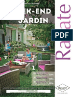"Ravate ""Un week end plaisir au jardin"""