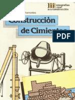 albañileria construccion cimientos (libro) - 141 páginas