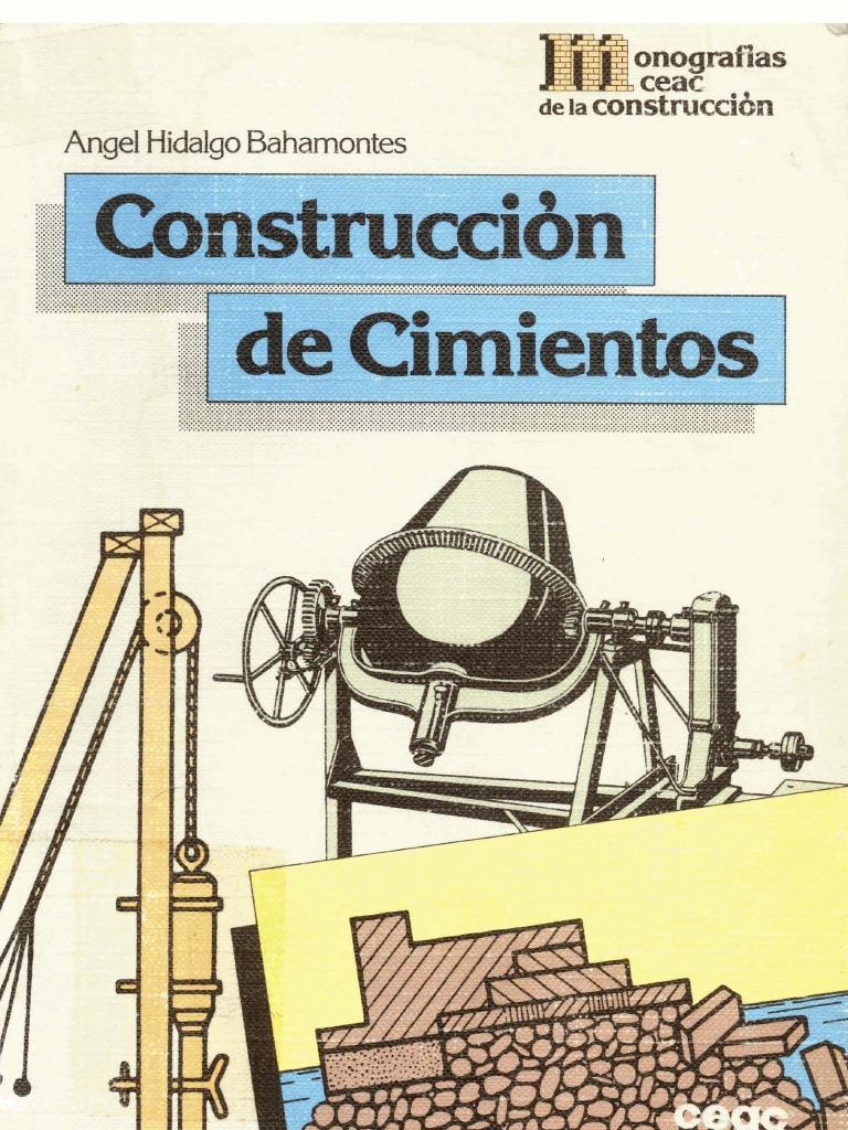 albañileria construccion cimientos (libro) - 141 páginas - photo#37