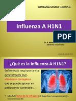 Influenza a H1N1- Dr. Albbeiro Pareja