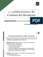2do Curso Biodiesel - 3 Calidad