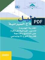 Budget en Arab