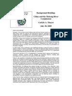 Thayer China and the Mekong Basin