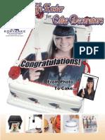 KK Cake Deco Brochure
