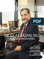 New Orleans Living Nov. 2013 Features Nicolas Bazan M.D.