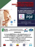 El Inmp Como Modelo de Atencion Humanizada 2013