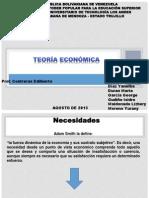 Teoria Economica II Tema