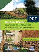 Estudio de Mercado de La Cadena Productiva de Hortalizas