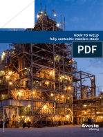 Avesta Welding: How to weld fully austenitic stainless steels