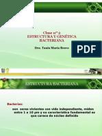 Clase n 2 Estructura Bacteriana