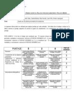 Evaluacion Zanahorias, Denise Lisperguier