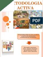 Diapositiva de Metodologia Activa