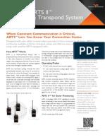 Auto-Range Transpond System