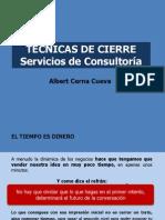 Tecnicas de Cierre de Servicios de Consultoria