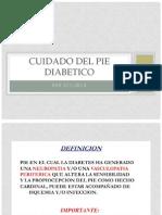 Cuidado Del Pie Diabetico 2013