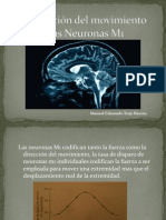 Codificación del movimiento por las Neuronas Meme.pptx