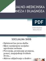 Socijalno-medicinski problemi - od anamneze do dijagnoze