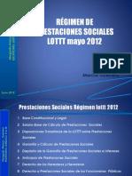 RÉGIMEN DE PRESTACIONES SOCIALES