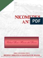 Nicomedes Antelo Por Gabriel Rene Moreno
