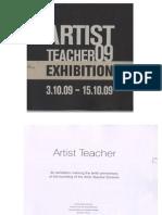 Artist Teacher Catalogue 2009.ppt