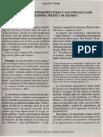 zEl Lugar de Las Superestructuras y Los Intelectuales en La Filosofia Politica de Gramsci1