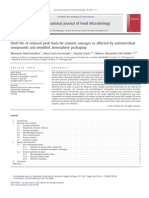 Shelf life of reduced pork back-fat content sausages as affected by antimicrobial compounds and modified atmosphere packaging.pdf