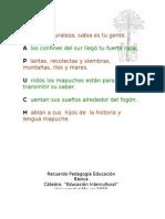 Acrostico Mapuche