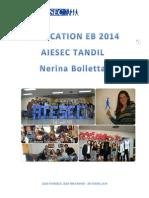 NerinaBolletta EB2014 Application