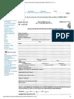 Formulario de Inscripción de Sociedades Mercantiles FORMA RM-7-SCC-C-V