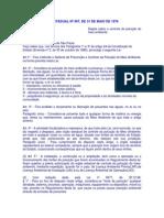 LEI ESTADUAL SP Nº 997, DE 31 DE MAIO DE 1976_Dispõe sobre o controle da poluição do meio ambiente