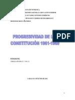 Comparacion de La Constitucion 1936-1947-1953-1961