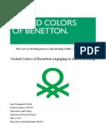 Benetton Angaging in Shockvertising