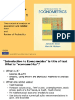 Chapters 1 & 2-final.ppt Econmetrics- Smith/Watson
