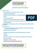 Regim Hepatita Cronica
