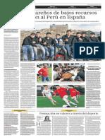 Escolares talareños de bajos recursos representan al Perú en España