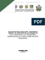 PLAN DE USO DE SUELOS LA TINGUIÑA