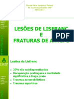 LESÕES DE LISFRANC