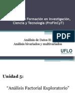 5. Profincyt - Análisis de Datos II