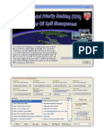 Coastal Priority Ranking (CPR) Oil Spill Management Software