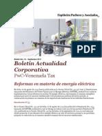 Boletín Actualidad Corporativa No. 16