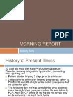 Scurvy and Autism Spectrum Disorder