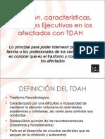 20100318 Funciones Ejecutivas Afectados TDAH