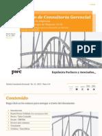 Consultoría Gerencial - Boletín No. 12 - Parte 4 -  Valoración de empresas como Estrategia de Negocios