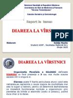 Diareea La Virstnici
