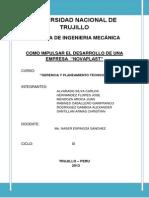 Gerencia y Planeamiento Tecnico Mecanico