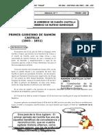 III BIM - HP - 3ER AÑO - Guía 7 - Primer Gobierno de Ramón C