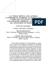 La Teoria Mental Con Autismo