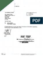 Cassels Brock Letter Redacted