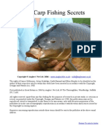 Carp Fishing Secrets
