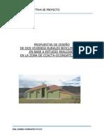 Viviendas Rurales Bioclimaticas